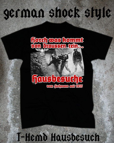 German Shock Style T Shirt