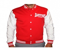 Eastfight College-Jacke rot