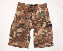 Jet Lag Herren Short Take Off 8 braun camo